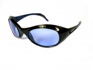 BRIKO VINTAGE Glasses Sports Unisex TWIN SHIELD Black Blue 01401108S.D1