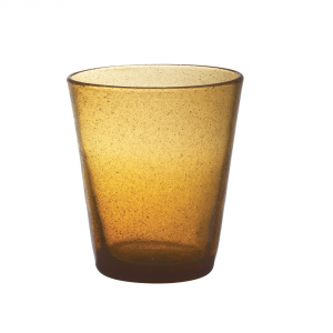 FRESHNESS BY LIVELLARA Bicchiere tumbler freshness amber - Cucina tavola