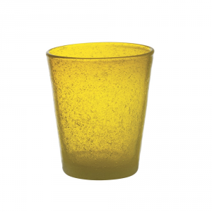 FRESHNESS BY LIVELLARA Vaso de tubo frescura amarillo - Cocina mesa