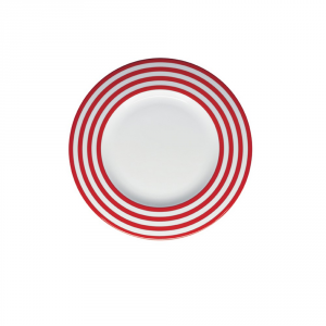 BY LIVELLARA Plat Plan Freshness Line Red - Cuisine Table
