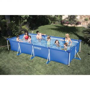 Intex Rectangular Frame Pool 450x220x84cm 450x220x84cm
