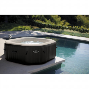 Intex Pure Spa Bubble Jet Massage Whirlpool 201x71cm Garden And Outside