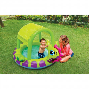 Intex Swimming Pool Baby Seahorse Cm. 188x147x104 Garden And Outside