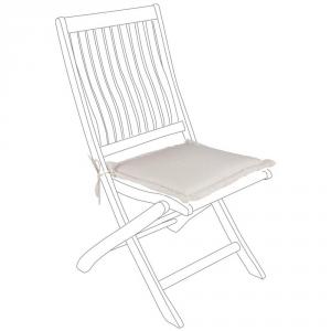 Bizzotto Natural Seat Cushion Spun - Garden Furnishing Cushions
