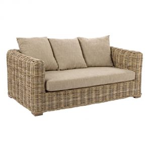 Bizzotto 2 Seater Sofa Fortaleza - Garden Synthetic Furniture