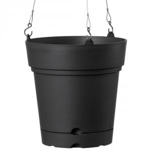 DEROMA Vaso Sospeso Samba Antracite Vasi Da Esterno Lite Material