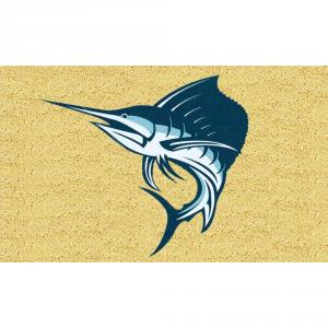 Gift Company Doormat Coconut Swordfish 75x45 Interior Furnishing Various Goods