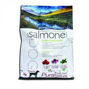 Pura Natura L.grain Salmon Dry Dog Monoproteici