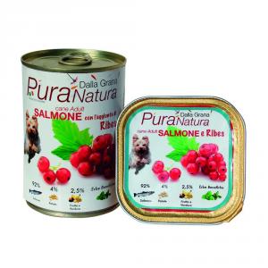 Pura Natura Ribes Salmon Grain Free Dog Wet