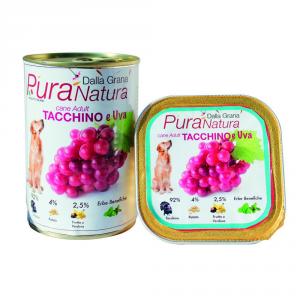 Pura Natura Turkey Grape Grain Free Dog Wet