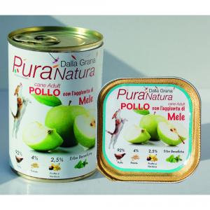 Pura Natura Chicken Apples Grain Free Dog Wet