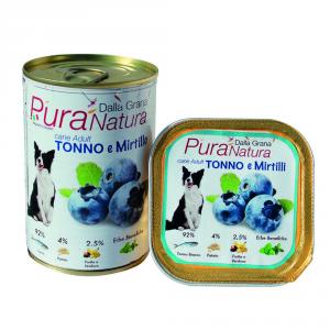 Pura Natura Tuna Blueberries Grain Free Dog Wet