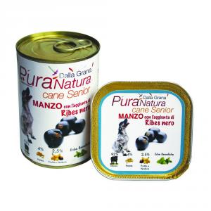Pura Natura Beef Ribes Senior Grain Free Dog Wet