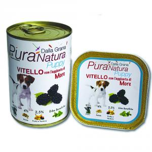 Pura Natura Calf More Grain Free Puppy Dog Wet