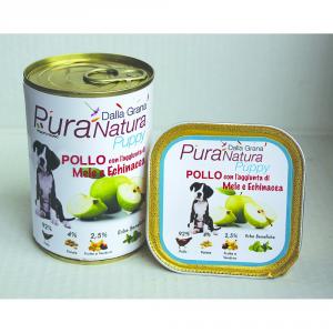 Pura Natura Chicken Apples Grain Free Puppy Dog Wet