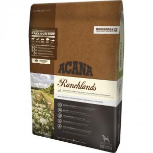ACANA Regionalsdog Ranchlands KG. 2 Cibo Secco Senza Cereali Per Cani