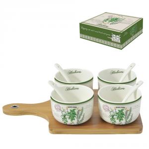 EASY LIFE Set Aperitivo Bamboo PZ. 5 Accessori Per La Cucina