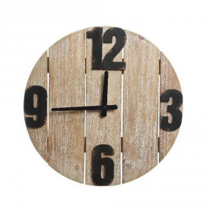 Agricola Exotica Wall Clock 40x3.5cm Furnishing Interior Decoration