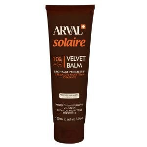 ARVAL Solaire Velvet Balsamo Crema Gel Protettiva Idratante Spf 10 150 Ml
