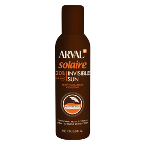 ARVAL Solaire Sun Invisible Transparent Protective Spray Spf 20 Cylinder 150 Ml