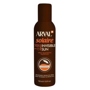 ARVAL Solaire Invisible Sun Spray Protecteur Transparent Spf 10 Cylindre 150 Ml