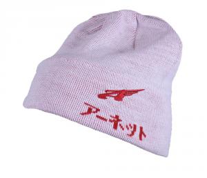 ARNETTE Cap Winter Unisex White Red 022907 Wool Internal Plush