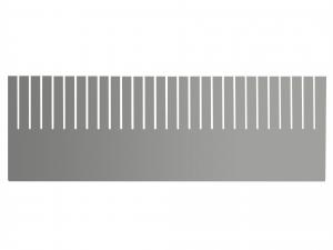 H&H Divisorio Modulare 55,5X18 Cm Made In Italy