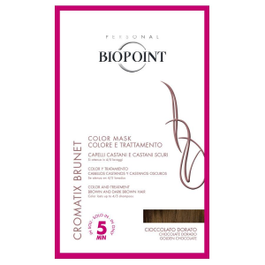 BIOPOINT Color Maske Chocolate Golden Tönungsfarbe Haar