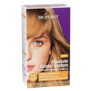 BIOPOINT Absolute Système De Cristal 8.3 Lumière Dorée Blonds Pour Les Cheveux