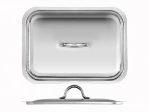 FRABOSK CASALINGHI Couverture En acier inoxydable Pour Rosticcera 30 cm Marmite