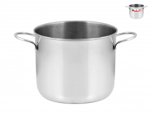 HOME Pot Inox 14 cm Préparation Cuisine
