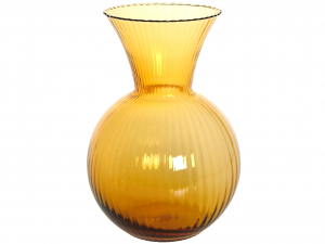 HOME Vase Millebolle Rigato Cm 32 Amber Outdoor furniture