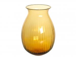 HOME Vase Noemi Rigato H Cm 28 Amber Outdoor furniture