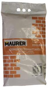 EDILBRIKO Set 5 Cemento Refrattario Edilbriko Sacco Kg 5 Colori Fa Da Te - Casa