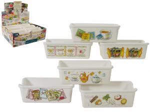 VIVENZI Set 18 Portabustine Tea / sugar Container Kitchen