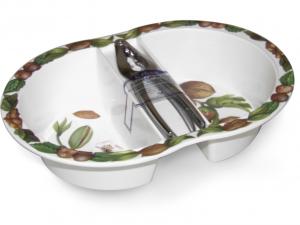 VIVENZI Portanoci crocc con schiaccianoci Contenitori cucina barattoli