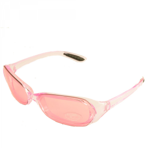 X3 BY BRIKO Sunglasses Time Free Woman RIKITEA Pink Transparent 034005