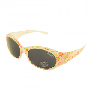 X3 BY BRIKO Sunglasses Time Free Junior BOA VIEW White Flowers 034029