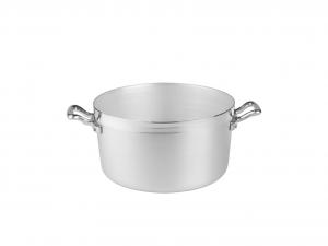 AGNELLI Casseruola alluminio alta family 2 manici cm20 Pentole Cucina