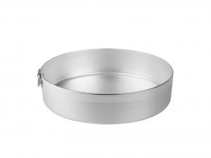 AGNELLI Tortiera alluminio cilindrico cm24 Pasticceria e Cake Design