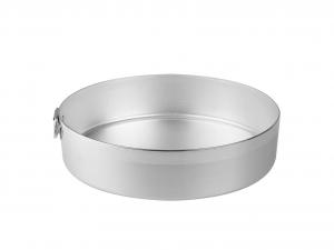 AGNELLI Tortiera alluminio cilindrico cm26 Pasticceria e Cake Design