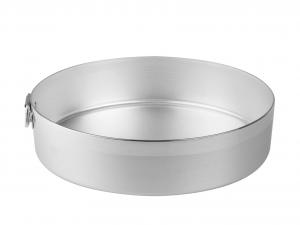 AGNELLI Tortiera alluminio cilindrico cm34 Pasticceria e Cake Design