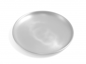 OTTINETTI Set 6 Piatto Alluminio Mise-en-place cm22 Arredo tavola tavola
