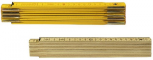 Set 12 Double-meter Wood Yellow With Springs Tools Manual