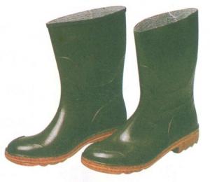 Stivali Pvc Verdi A Tronchetto N 44 Antinfortunistica Protezione