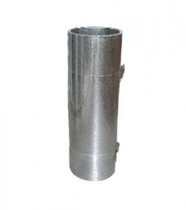 Chapa Liso Zincata En Rollo 27 mm 0.38 Clavos
