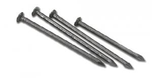 Set 5 Chiodi Ferro Testa Piana 18X80 Recinzioni-Chiodi