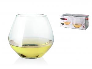 BOHEMIA Confezione 2 bicchieri millesime cl34 Calici vino bicchieri tavola