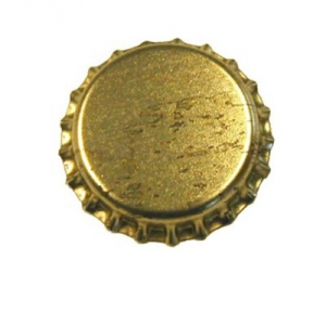 Tappo Corona Oro Mm 26 Confezione Pz 200 Giardinaggio Enologia
