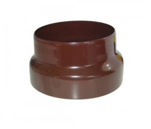 Reduction For pipes Glazed Brown Cm 10X12 Heating